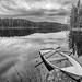 Monochrome lake by jarnasen