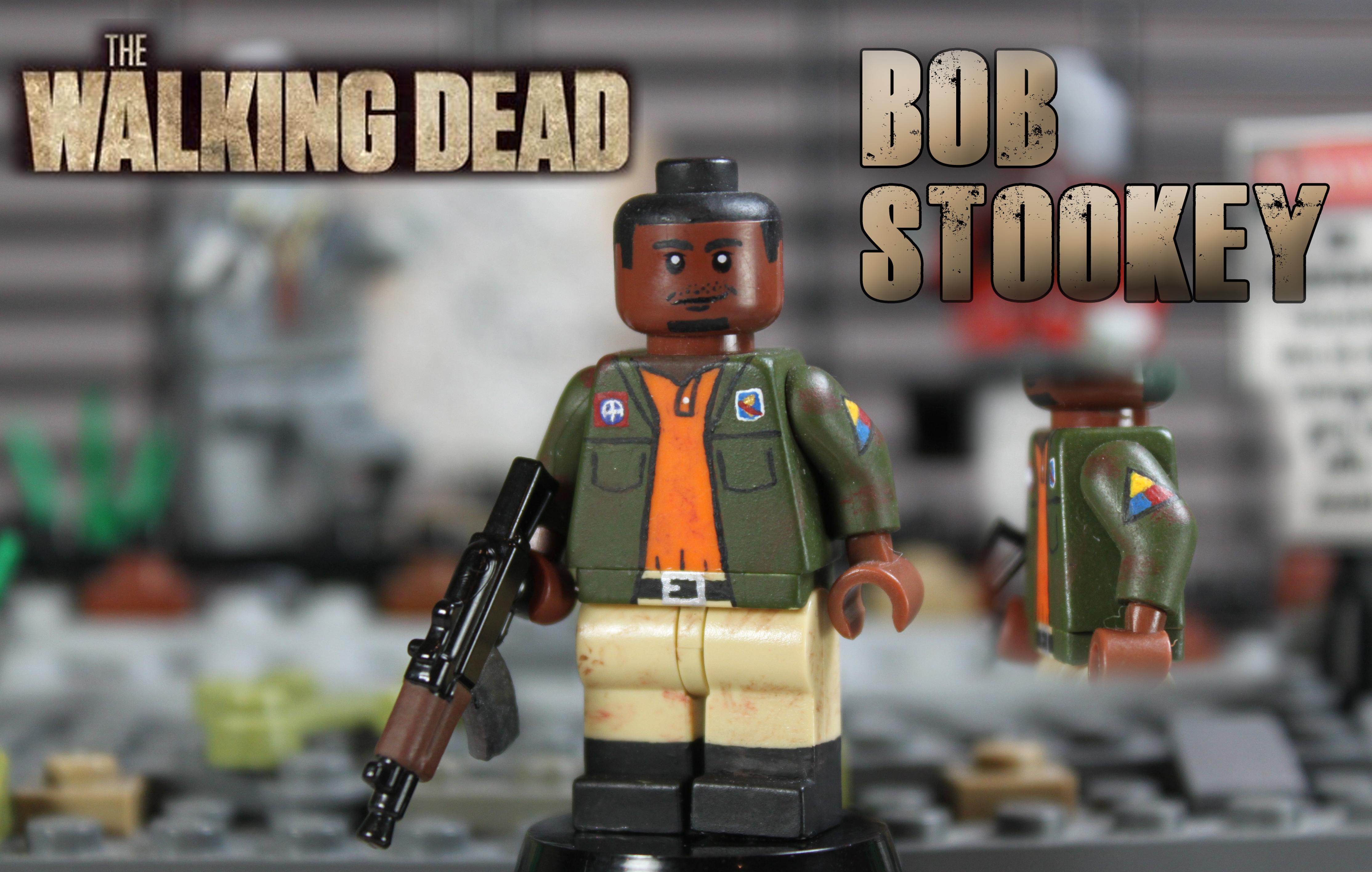 custom lego the walking dead bob stookey flickr photo. Black Bedroom Furniture Sets. Home Design Ideas