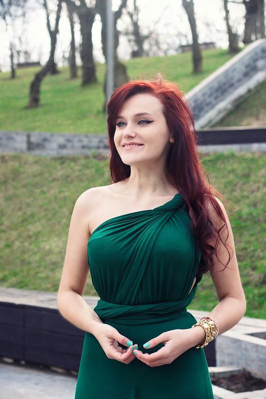 green maxi dress8