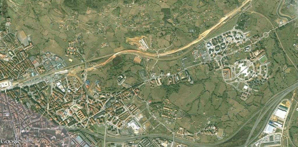 antes, urbanismo, foto aérea, desastre, urbanístico, planeamiento, urbano, construcción,Oviedo (norte), Asturias