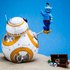 BB-8 : Genie of the Lamp.