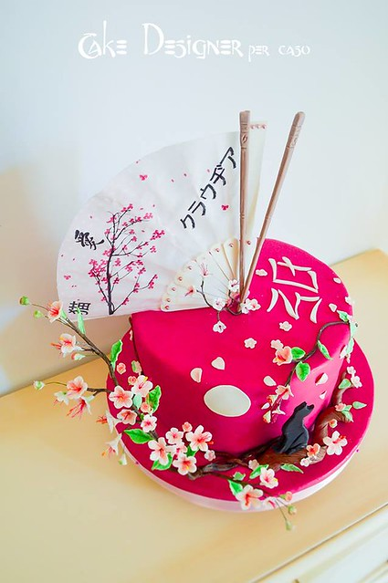 Made in Japan Cake by Cake Designer per caso