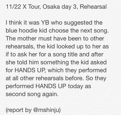 Osaka day 3-3a-rehearsals