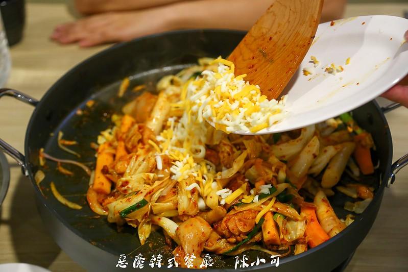 惡魔韓式餐廳,港式,韓式料理餐廳 @陳小可的吃喝玩樂