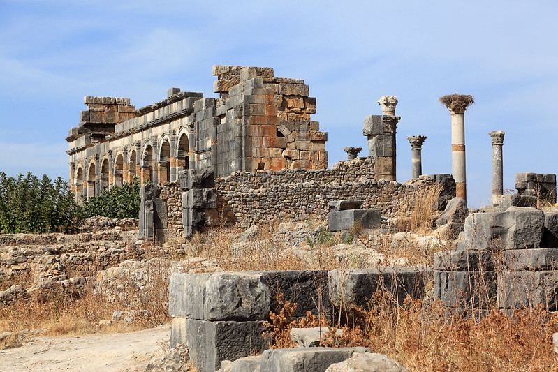 Volubilis buildings