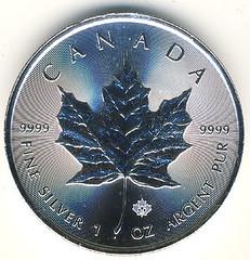 2014 Canadian silver bullion coin