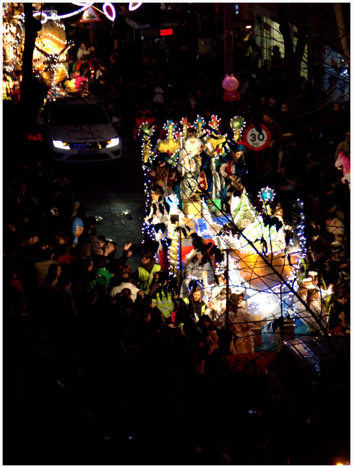 Cabalgata de Reyes Magos en Valdemoro 2015