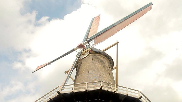 The Red Lion Mill in Gouda 1