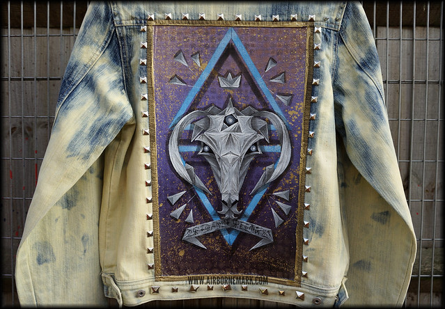 """Origami Capricorn"" Custom Jacket"