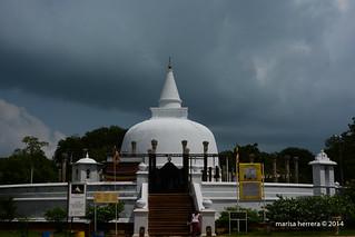 Sri Lanka. Anuradhapura. Lankarayama.