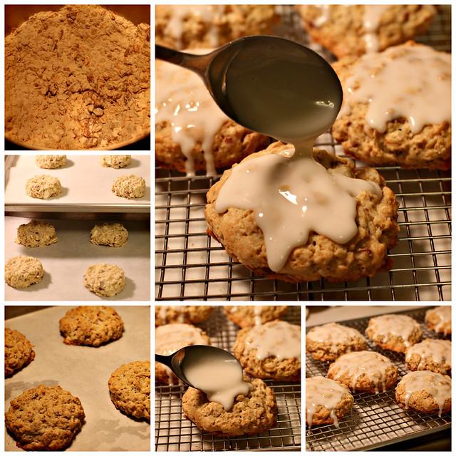 Oatmeal Maple Scones - Flour Bakery