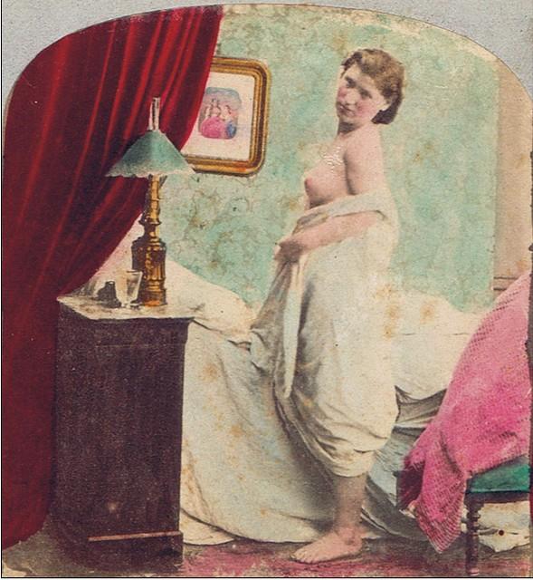Mujer Desnuda por E. Lamy