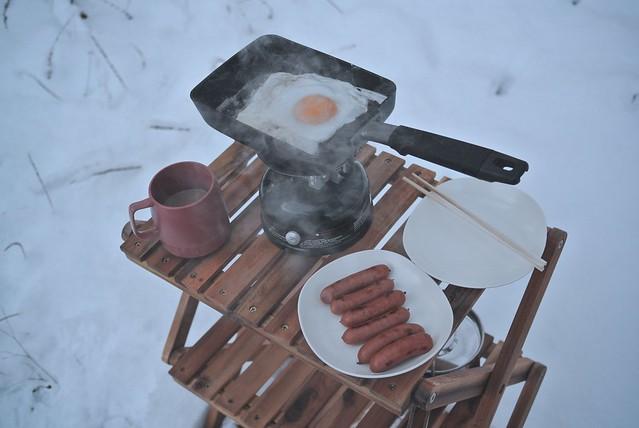 Winter Camping.