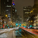 Chicago ready for Christmas! The Magnificent Mile, Chicago, Michigan Avenue