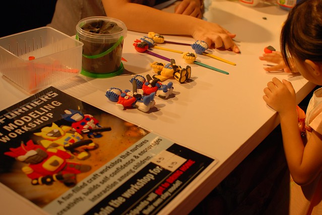 Transformers Clay Modelling Workshop.