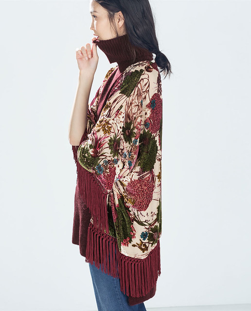 kimono seda zara
