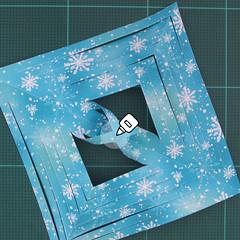 วิธีทำดาวกระดาษรุปเกล็ดหิมะ สำหรับแต่งบ้าน ช่วงเทศกาลต่างๆ (Paper Snowflake DIY) 011