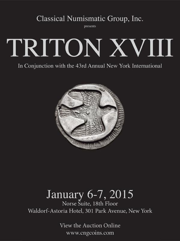 CNG 2015-01 ad Triton XVIII
