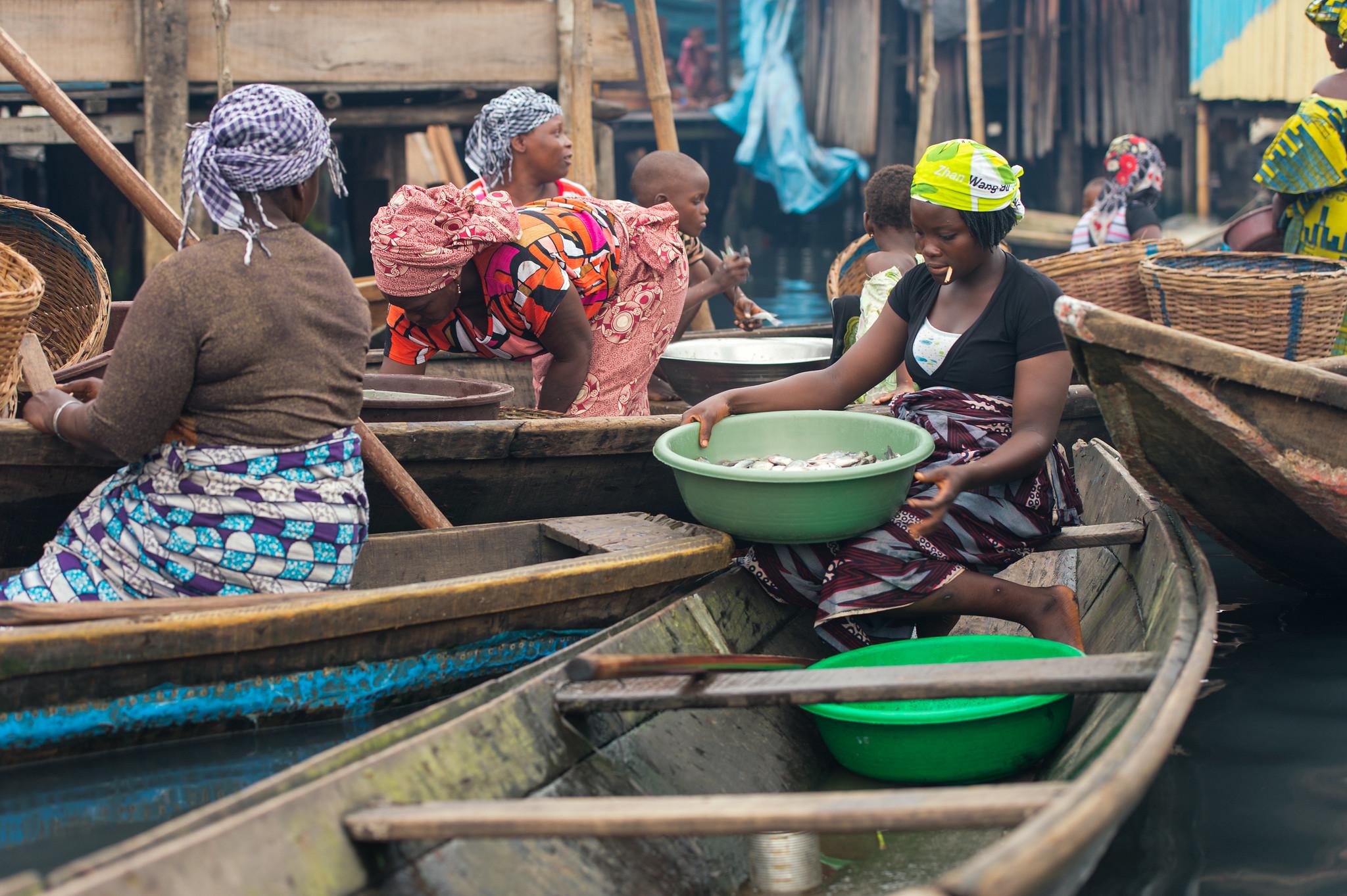 Makoko Fish Market
