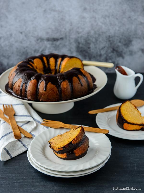 Coconut, Ricotta & Cornmeal Tea Cake