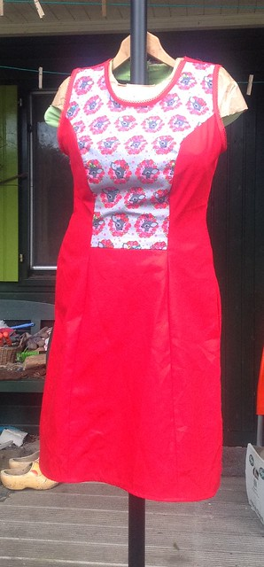 Red Deer&Doe dress
