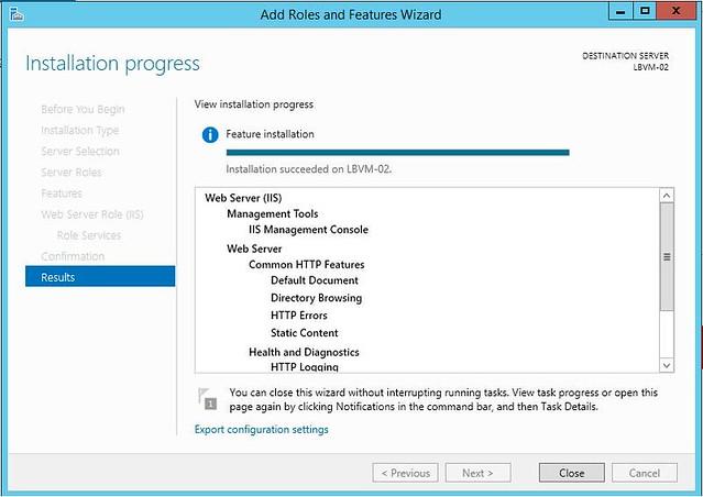 [Azure] VM - 啟用 IIS-10