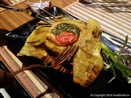 Banana Leaf Wrapped Grilled Fish with Balinese Spices