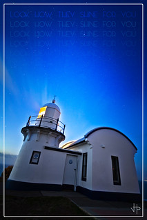 Look how they shine for you! Lighthouse & Stars