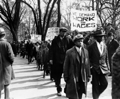 Blacks, Whites Protest Job Losses: 1930 No. 3