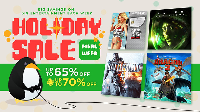 Holiday Sale 2014, Week 4
