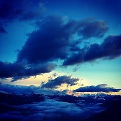 Barbapapa #clouds #morning #alpes #mountains #nendaz #valais #suisse #igersuisse #instanature #bestoftheday