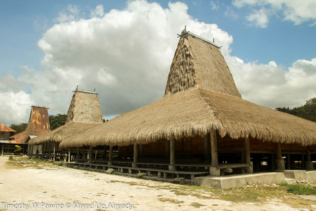 Indonesia - Sumba - Waingapu - Praiyawang Village - (05) - The traditional house