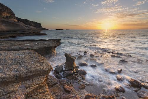 sunset sea mar tenerife sur puestadesol d800 islascanarias adeje fotojoma caletaadeje