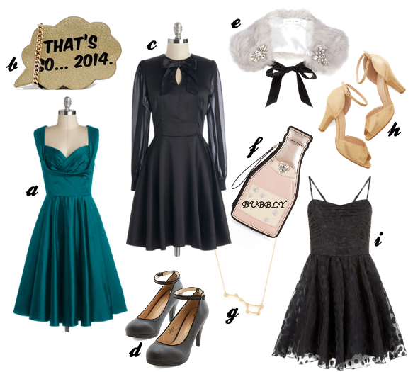 polyvore new year's eve