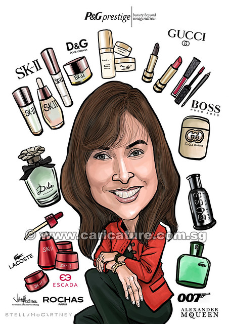 digital boss caricature for P&G (watermarked)