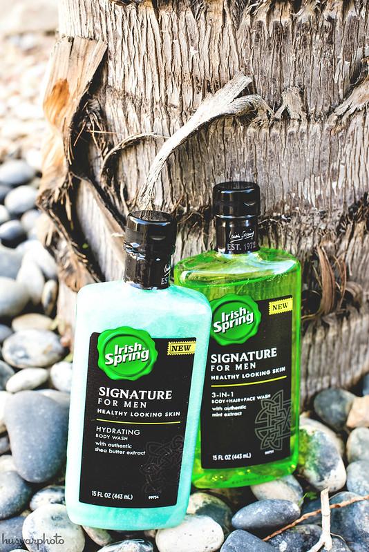 #MySignatureMove New Irish Spring For Men body wash