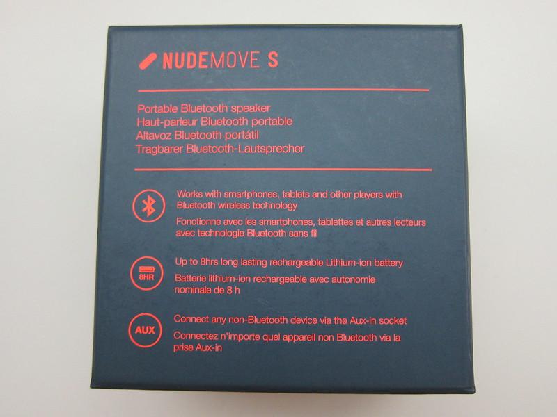 NudeAudio Move S - Box Back