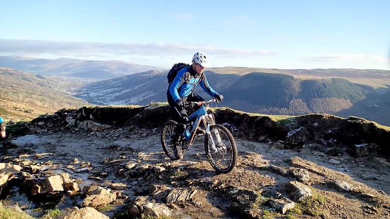 Dec 2014 - Classic Gap MTB with Matt, Ceri and Haydn