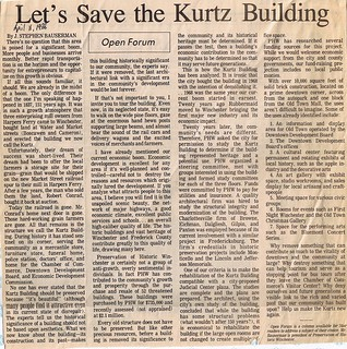 Let's Save the Kurtz Building