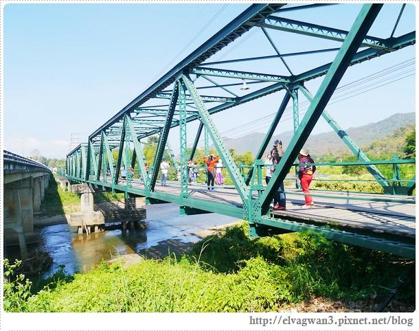 泰國-泰北-清邁-The Pai World War II Memorial Bridge-二次世界大戰橋-湄宏順府-pai 拜縣-1095公路-pai river-傑克船長-神鬼奇航-明信片-開新旅行社-開心假期-大興旅遊公司-泰國觀光局-21-510-1