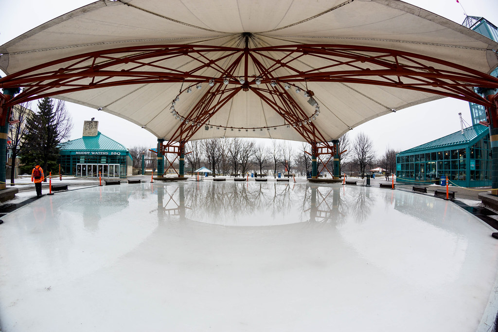 The Canopy At The Forks Winnipeg
