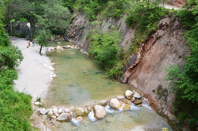 Toscolano River, Lake Garda, Italy