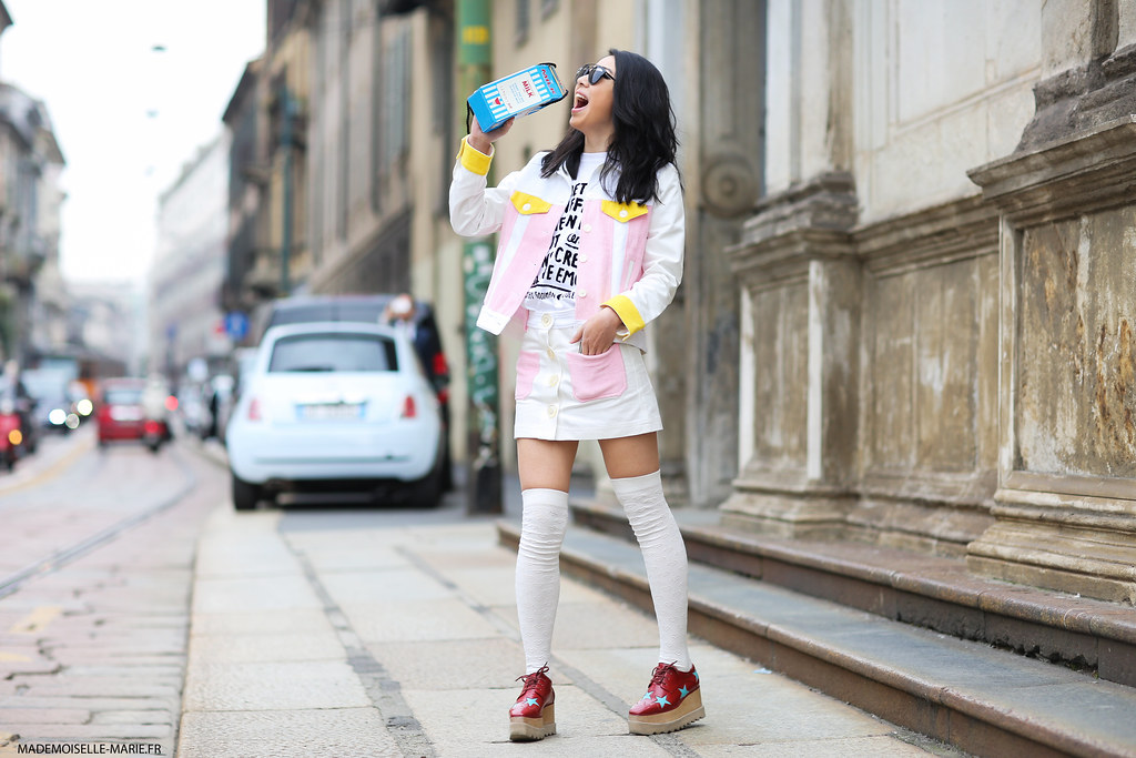 Yuwei Zhangzou at Milan Fashion Week