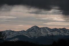 Pic du Midi under a cloud