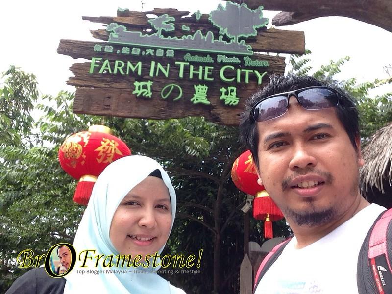 Farm in The City, Seri Kembangan - Kelab Blogger Ben Ashaari