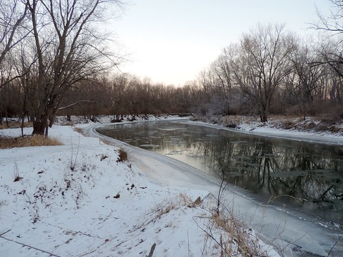 illinois snow ice water winter