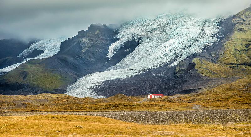 Casa solitaria Islandia