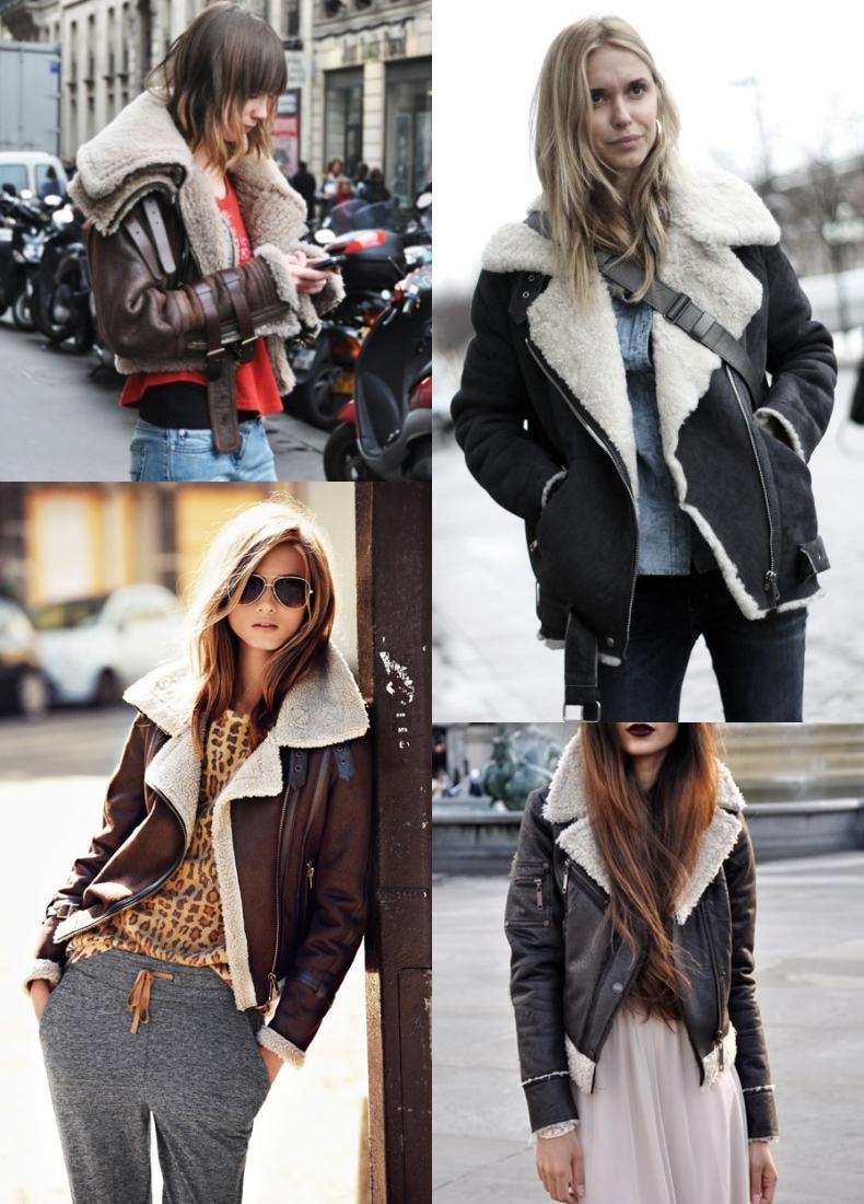 aviator jacket streetstyle