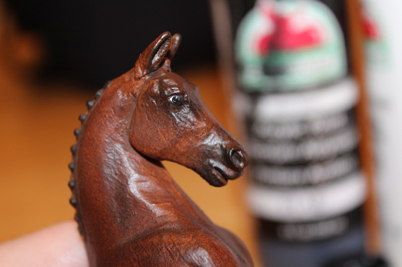 How to Paint Brown Horse Eyes in Acrylics 16346413111_be489c0329_o