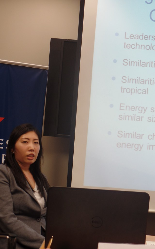 Ms. Aiko Shimizu discusses the potential of the ongoing clean energy initiative between Hawaii and Okinawa.